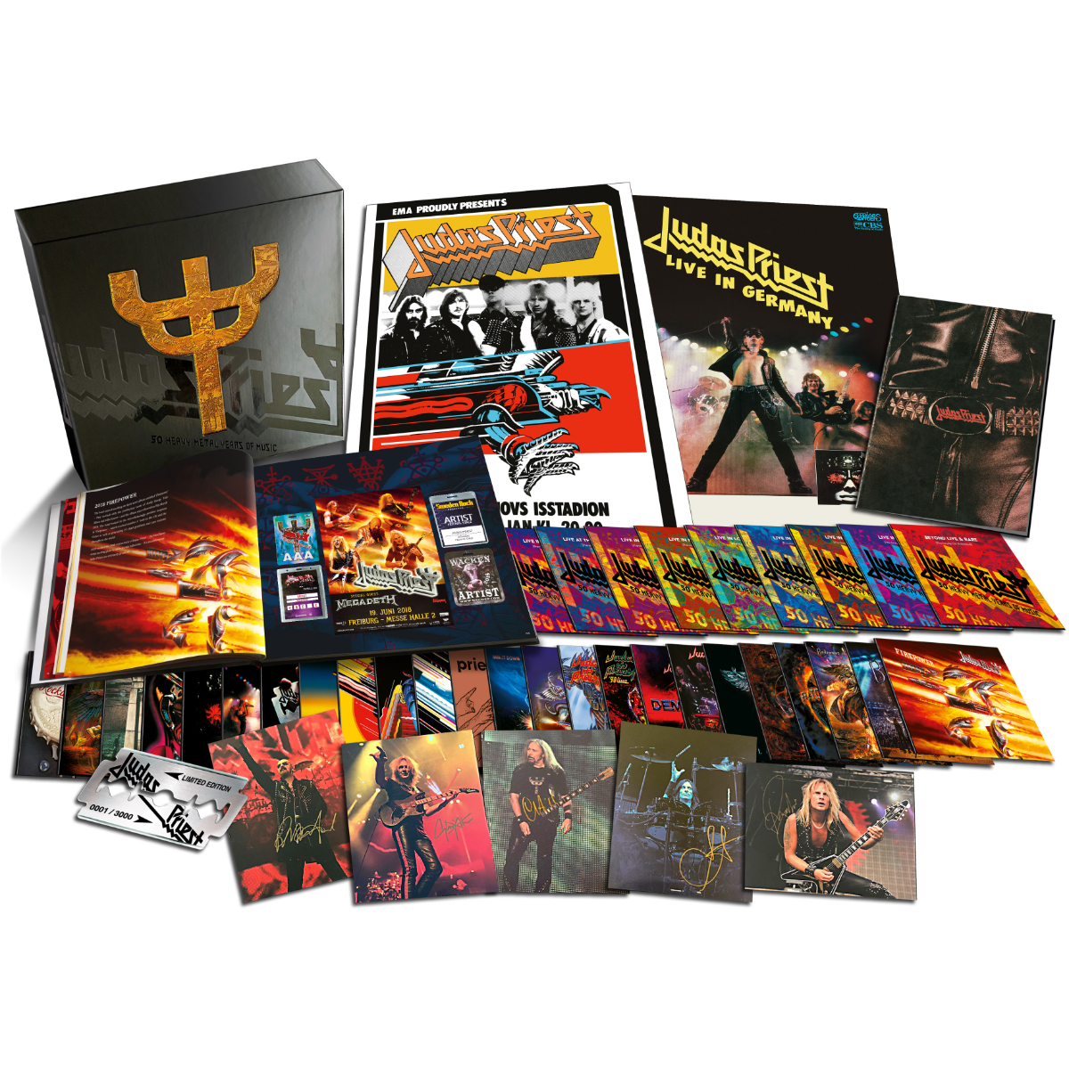 50 Heavy Metal Years of Music Exclusive Box Set