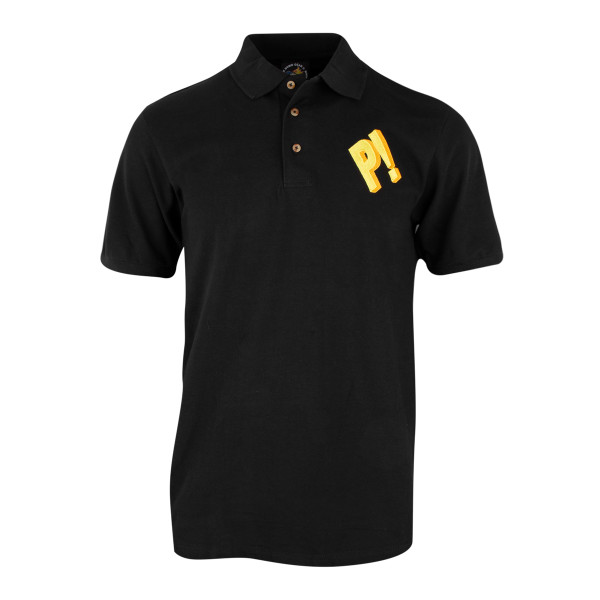 Sean Price P Polo Shirt Black Shop The Duck Down Music