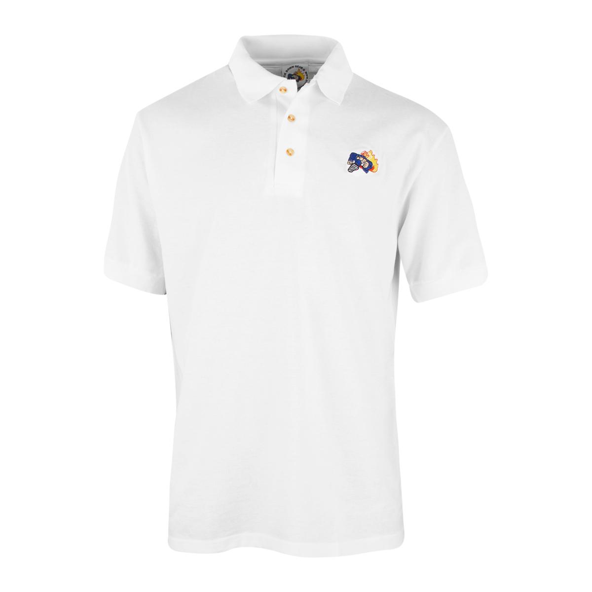 Duck Down Polo Shirt [White]