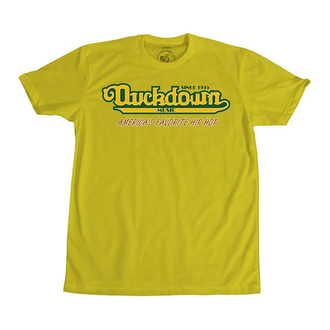 Duck Down's Famous T-Shirt [Yellow]