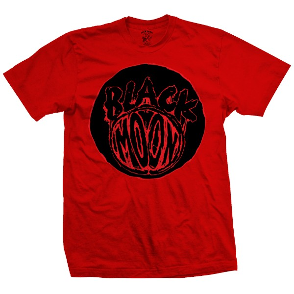 Black Moon Logo (Red)