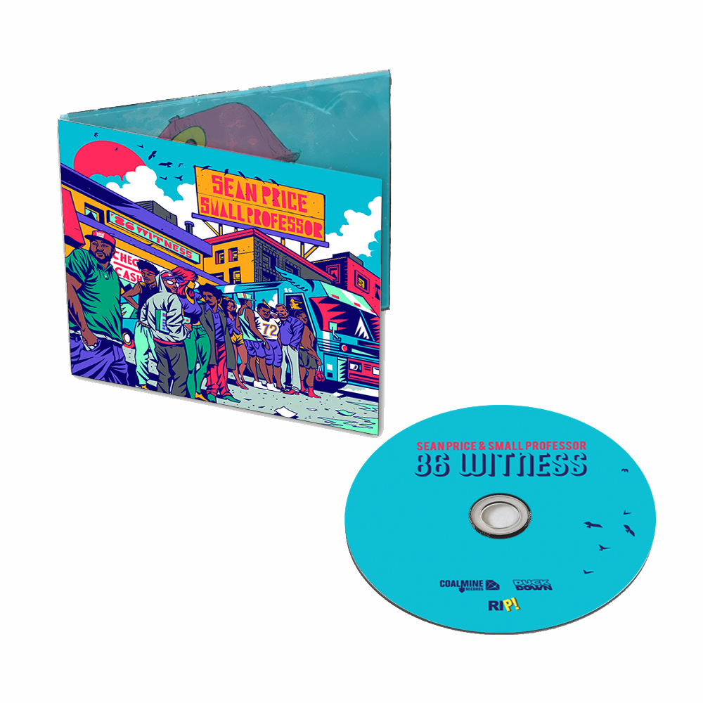 Sean Price & Small Professor '86 Witness' CD + Digital Download