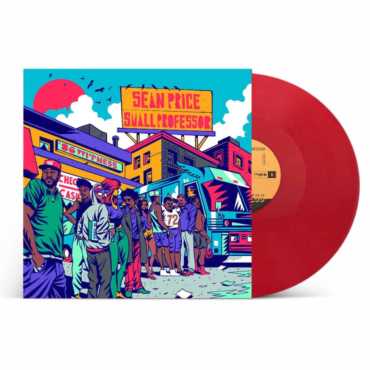 Sean Price & Small Professor '86 Witness' Vinyl + Digital Download