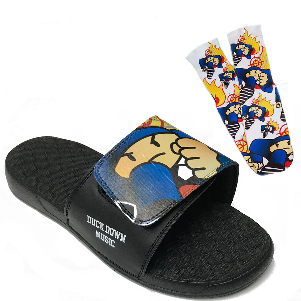 Duck Down Socks & Slides Bundle