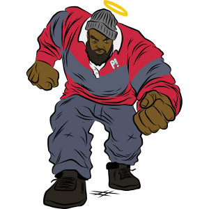 Sean Price Halo Sticker