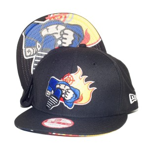 Duck Down Logo New Era Deluxe Snapback Hat