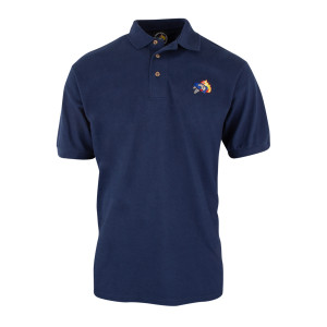 Duck Down Polo Shirt [Navy]