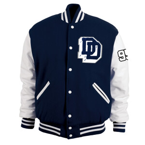 Duck Down Varsity Letterman Jacket