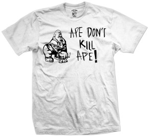 Sean Price - Ape Don't Kill Ape T-Shirt [White]
