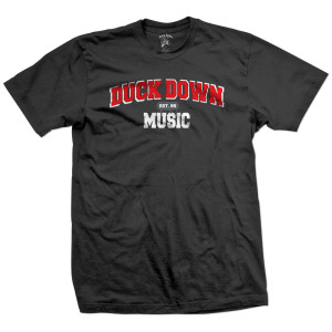Duck Down Music Est. 95 T-Shirt [Black]