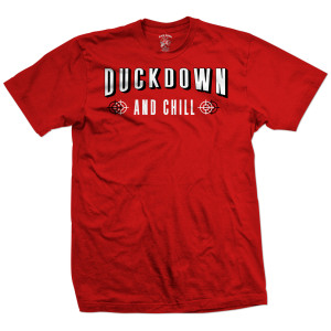 Duck Down and Chill T-Shirt [Red]
