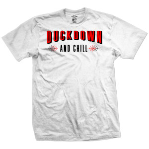 Duck Down and Chill T-Shirt [White]