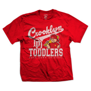 Crooklyn Toddlers T-Shirt [Red]