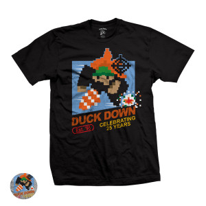 Duck Down Retro Video Game T-Shirt