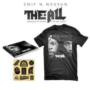 Smif N Wessun 'The All' T-Shirt Bundle