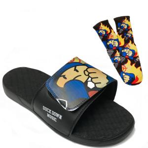 Duck Down Socks & Slides Bundle