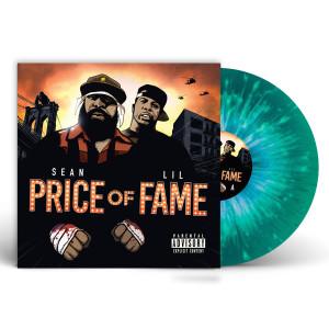 """Sean Price & Lil Fame titled """"Price of Fame"""" Hulk Green Vinyl + Digital Download"""