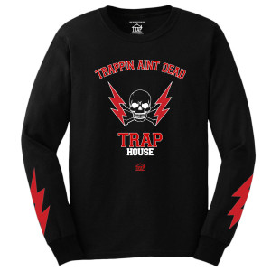 Trapping Ain't Dead Long Sleeve T-Shirt [Black]