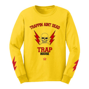 Trapping Ain't Dead Long Sleeve T-Shirt [Yellow]