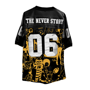 The Never Story Jersey [Black]
