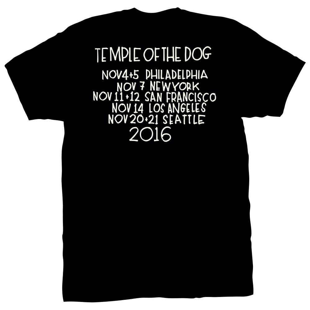 Album Cover + Tour Dates T-Shirt