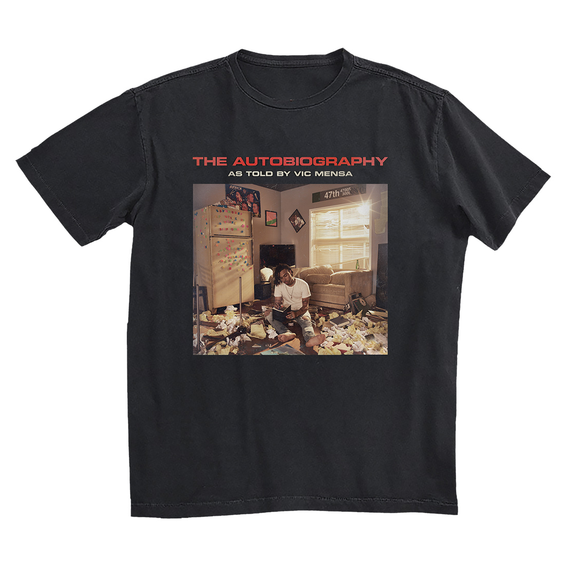 The Autobiography Cover T-Shirt [Black]