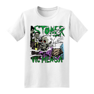 Rollin' Like a Stoner T-Shirt [White]