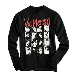 Vic Mensa Long Sleeve T-Shirt red print mult pics