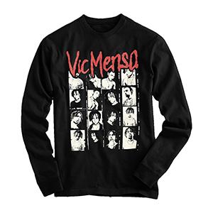 Vic Mensa Long Sleeve T-Shirt red print mult pics