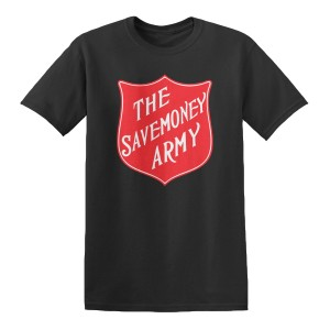The Savemoney Army Logo T-shirt