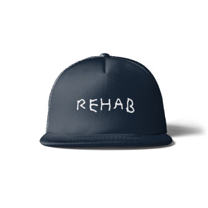 Rehab Navy Hat