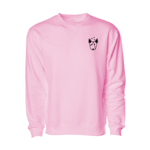 Moosie Sweatshirt [Light Pink]