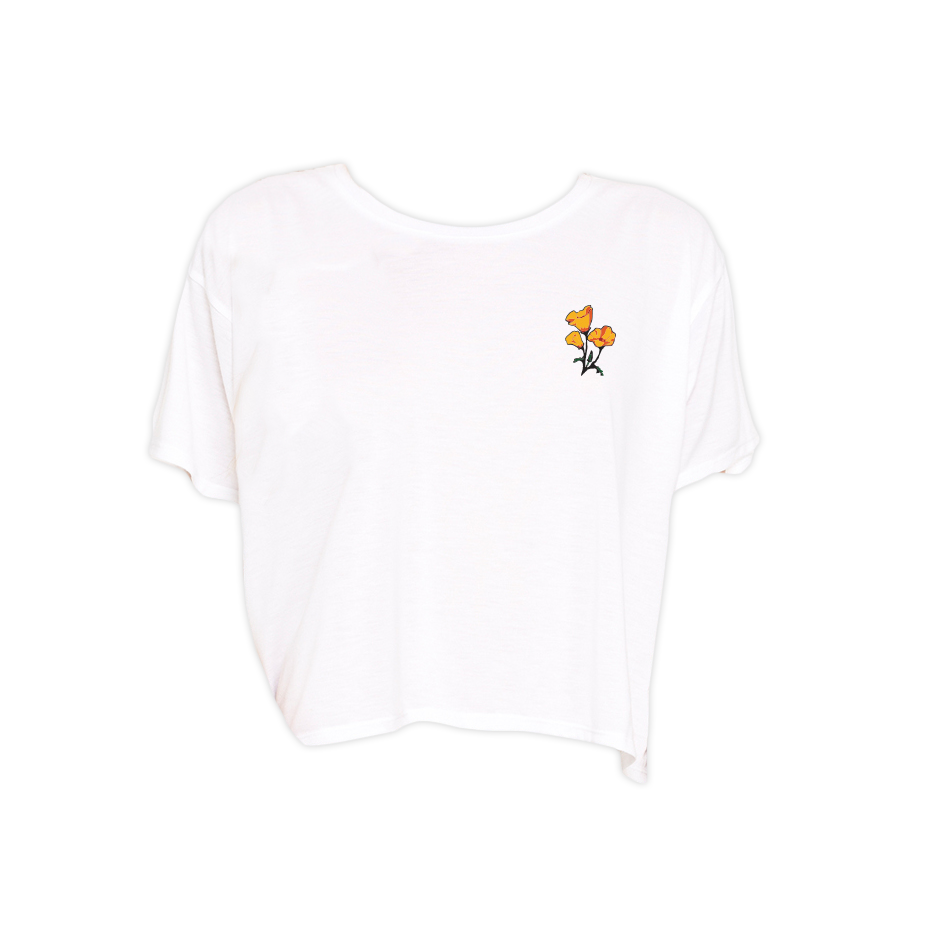 Poppy Cropped T-Shirt
