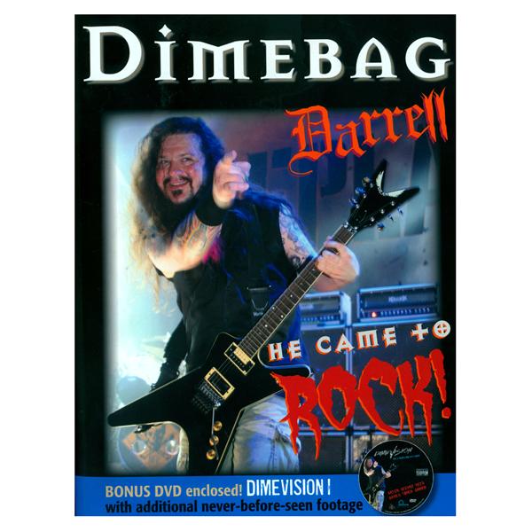 Dimebag Darrell: He Came to Rock Book/DVD | Shop the Dimebag Darrell