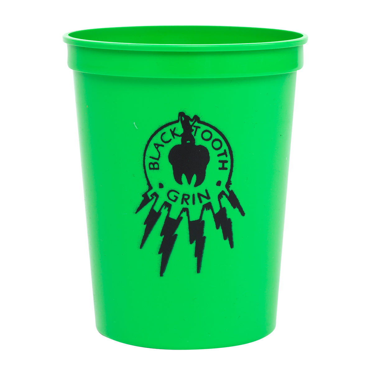 Black Tooth Plastic Cup