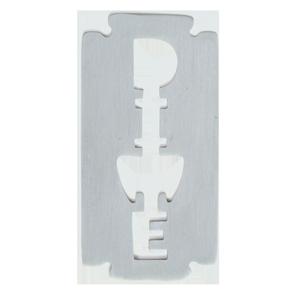 Black Tooth Steel Bottle Opener