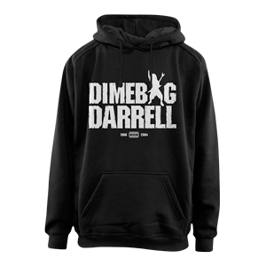 Silhouette Text Hoodie