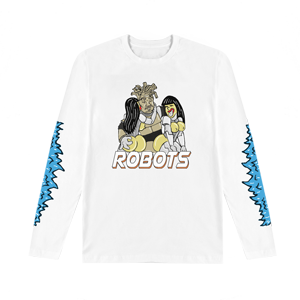 Robots Long Sleeve T-Shirt