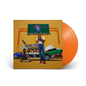 85 to Africa Translucent Orange Vinyl LP + Digital Download