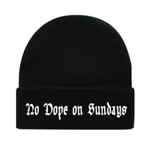 No Dope on Sundays Beanie