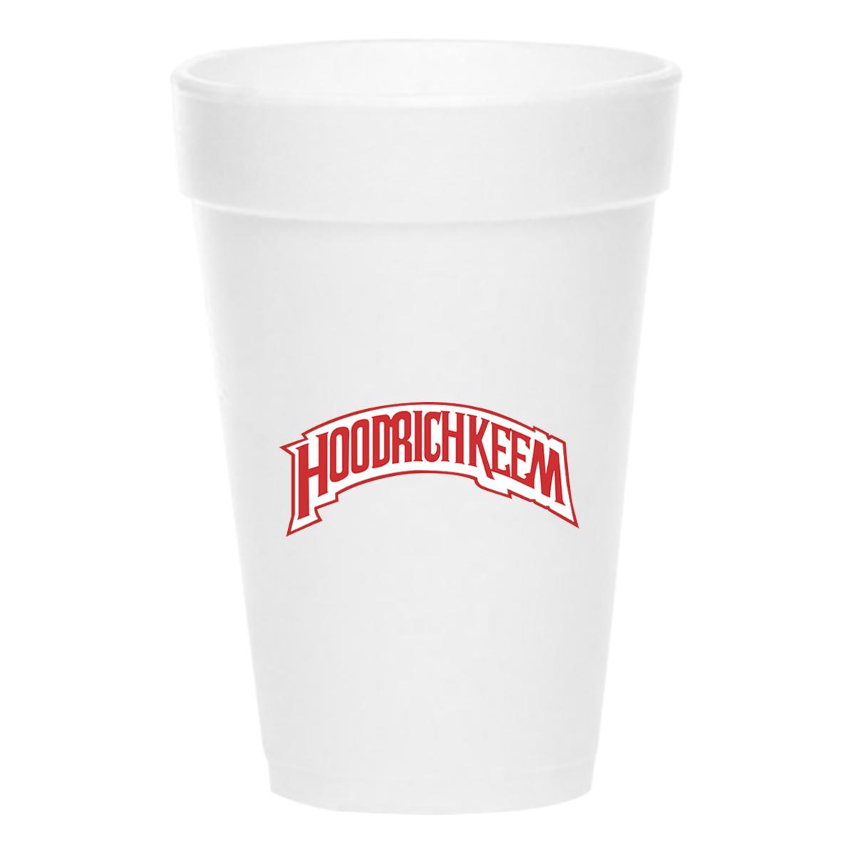 HoodrichKeem Styrofoam Cup
