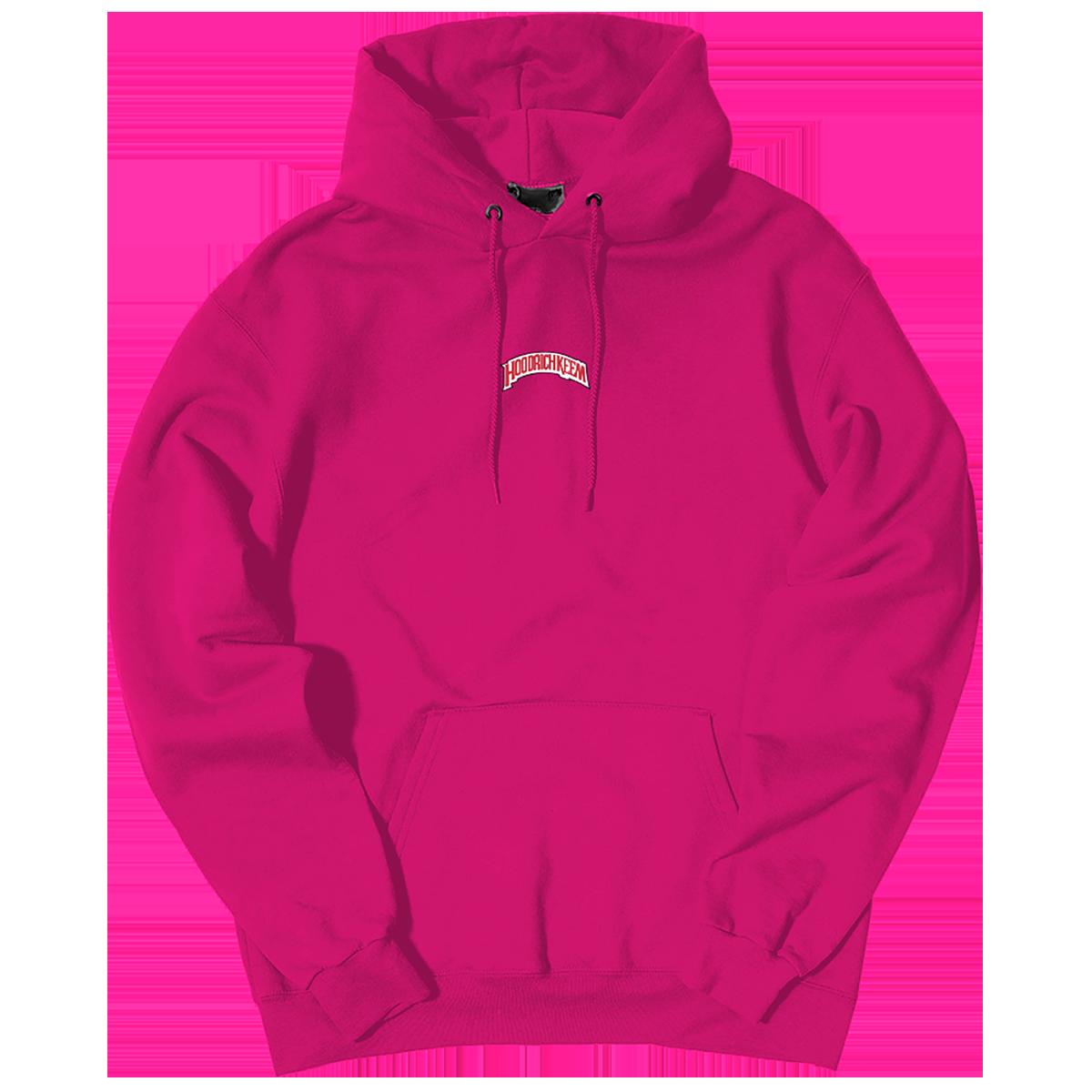 HoodrichKeem Hooded Sweatshirt [Neon Pink]