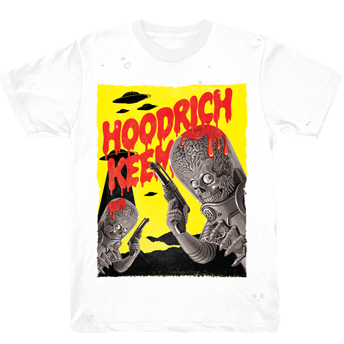 Hoodrich Keem Drip Distressed T-Shirt