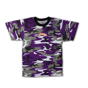 Hoodrich Embroidered Camouflage T-Shirt [Purple]