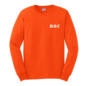 D.O.C. Long Sleeve Shirt [Orange]