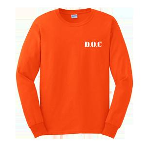 D.O.C. Long Sleeve Shirt [Orange]