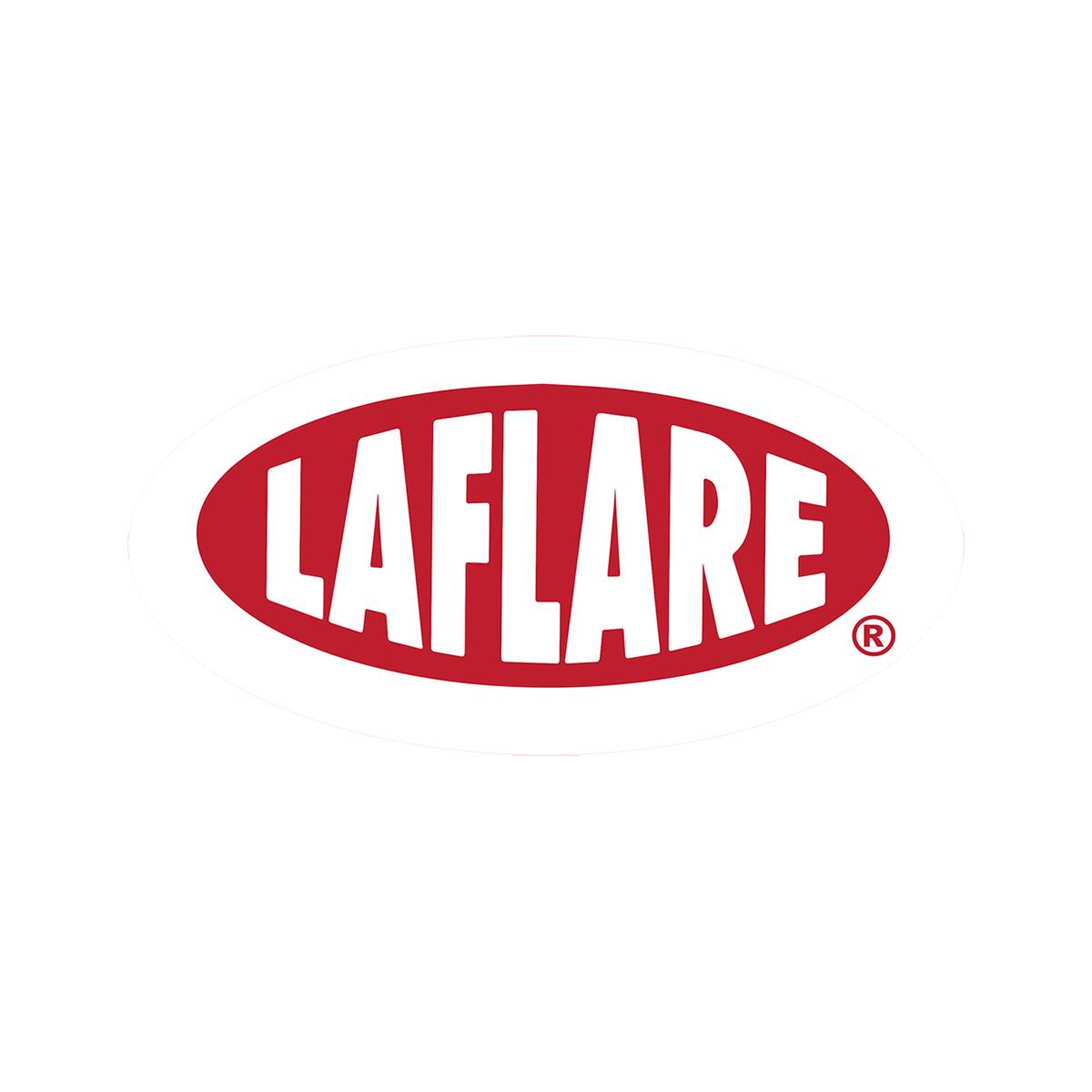 "LaFlare Oval Sticker - 7"" x 3.5"" + Album Bundle"