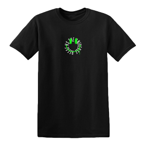 Smiley Face T-Shirt [Black] + Album Bundle