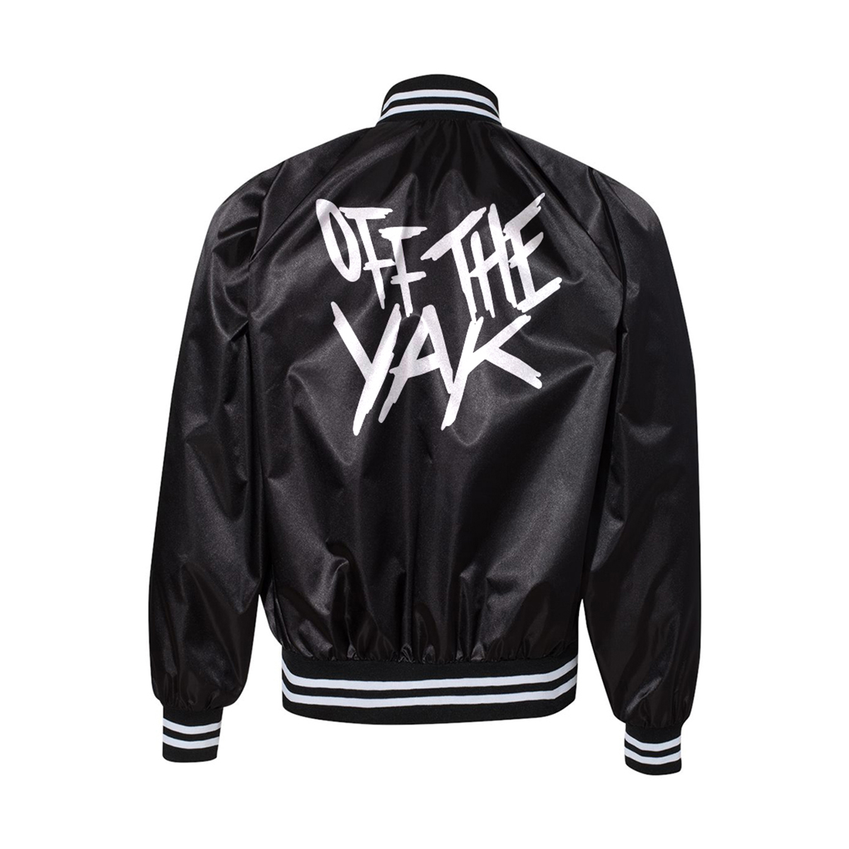 Young M.A Off the Yak Satin Jacket