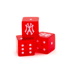 """Young M.A """"Off the Yak"""" Transparent Red Dice"""